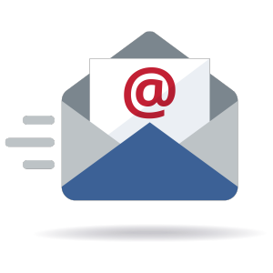 Sent email icon illustration