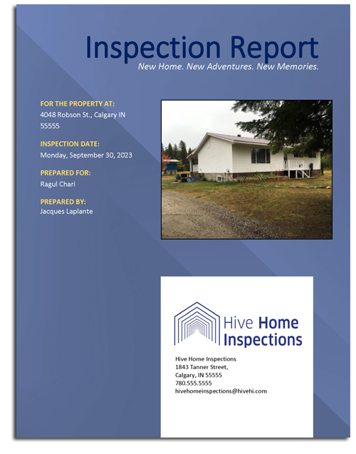 Illustrated Home Inspection Reports