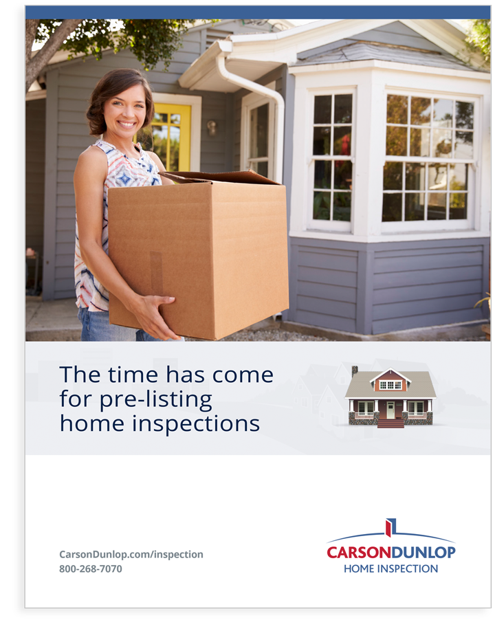 Sellers home inspection pre-listing guide cover