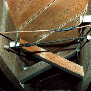 Knob and tube wiring sample