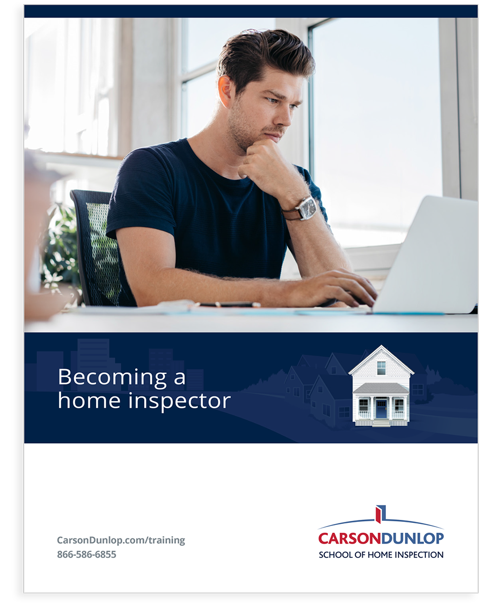 Becoming a home inspector info