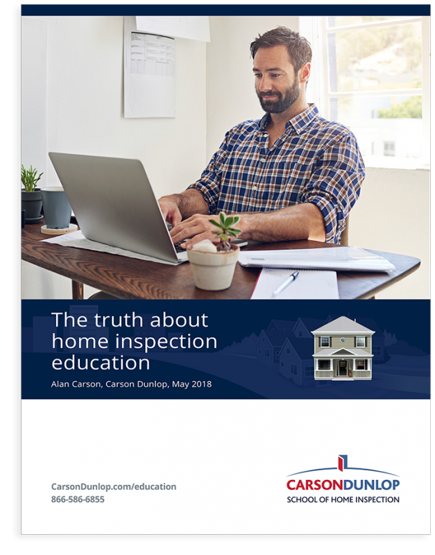 The truth about home inspection education guide cover